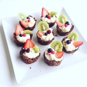 košíčky s ovocem